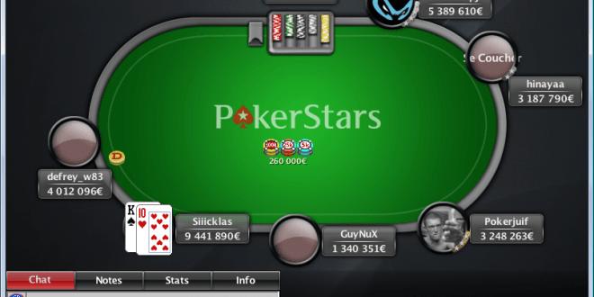 le site de poker en ligne pokerstars