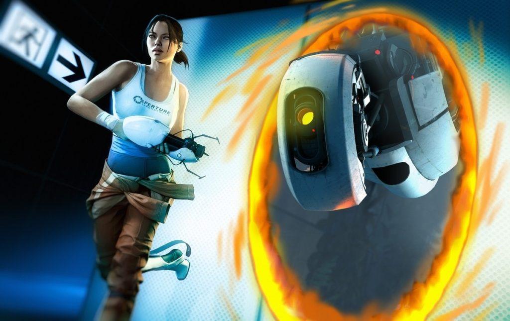 Le jeu vidéo portal 2