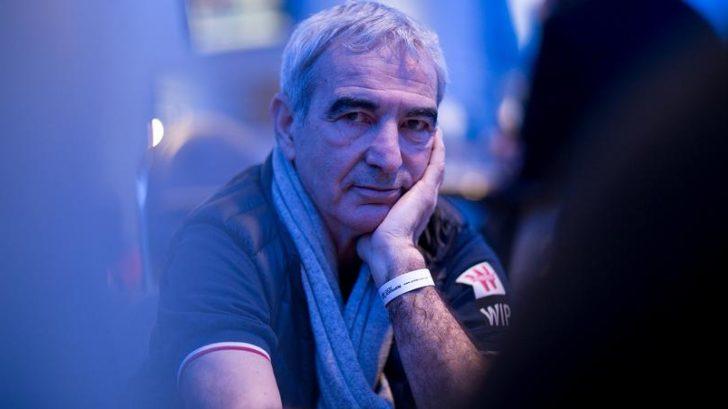 raymond domenech lors du winamax poker tour